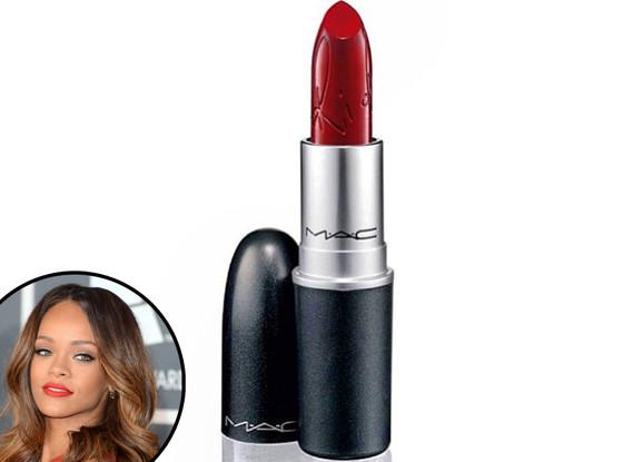 Rihanna MAC Riri Woo Lipstick