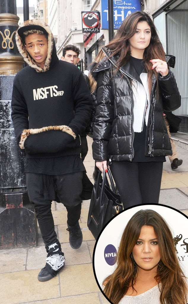 Jaden Smith, Kylie Jenner, Khloe Kardashian Odom