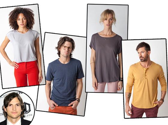 Ashton Kutcher, Pickwick & Weller T-Shirts