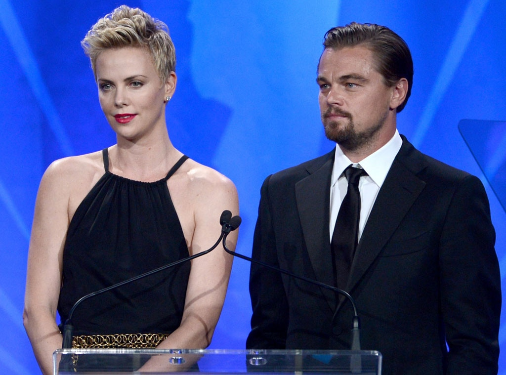 Leonardo DiCaprio, Charlize Theron, GLAAD Media Awards