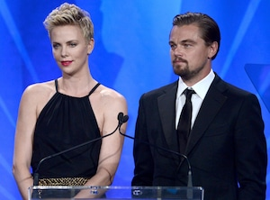 Leonardo DiCaprio, Charlize Theron, GLAAD Media Awards