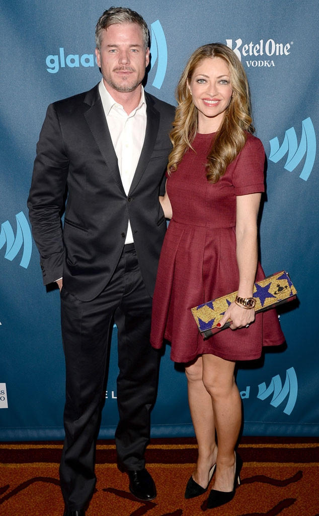 Eric Dane, Rebecca Gayheart, GLAAD Media Awards