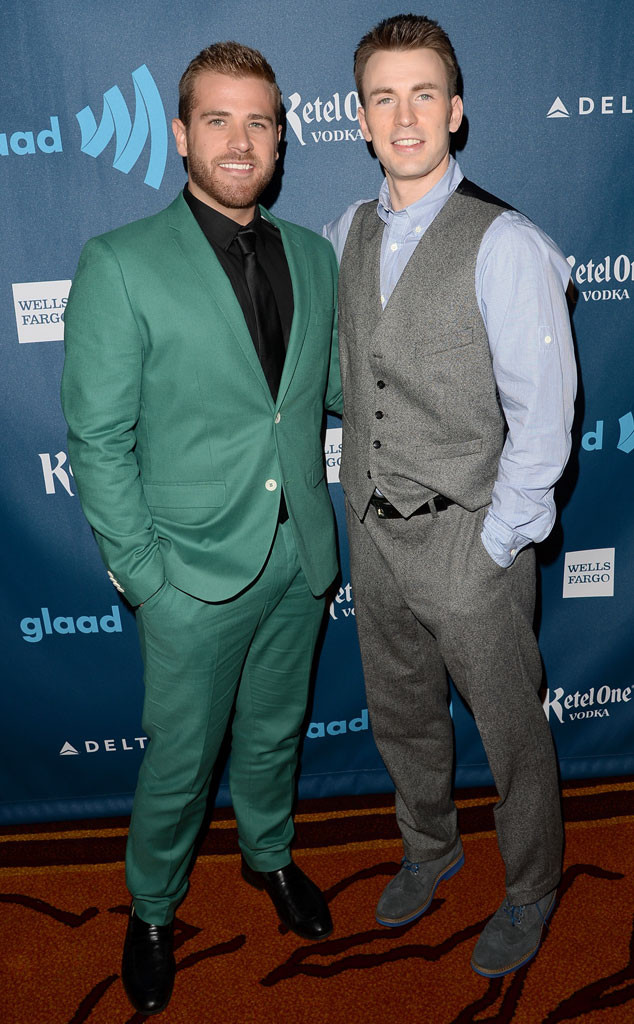 Chris Evans, Scott Evans, GLAAD Media Awards