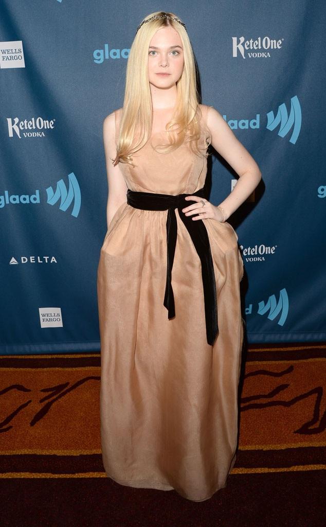 Elle Fanning, GLAAD Media Awards