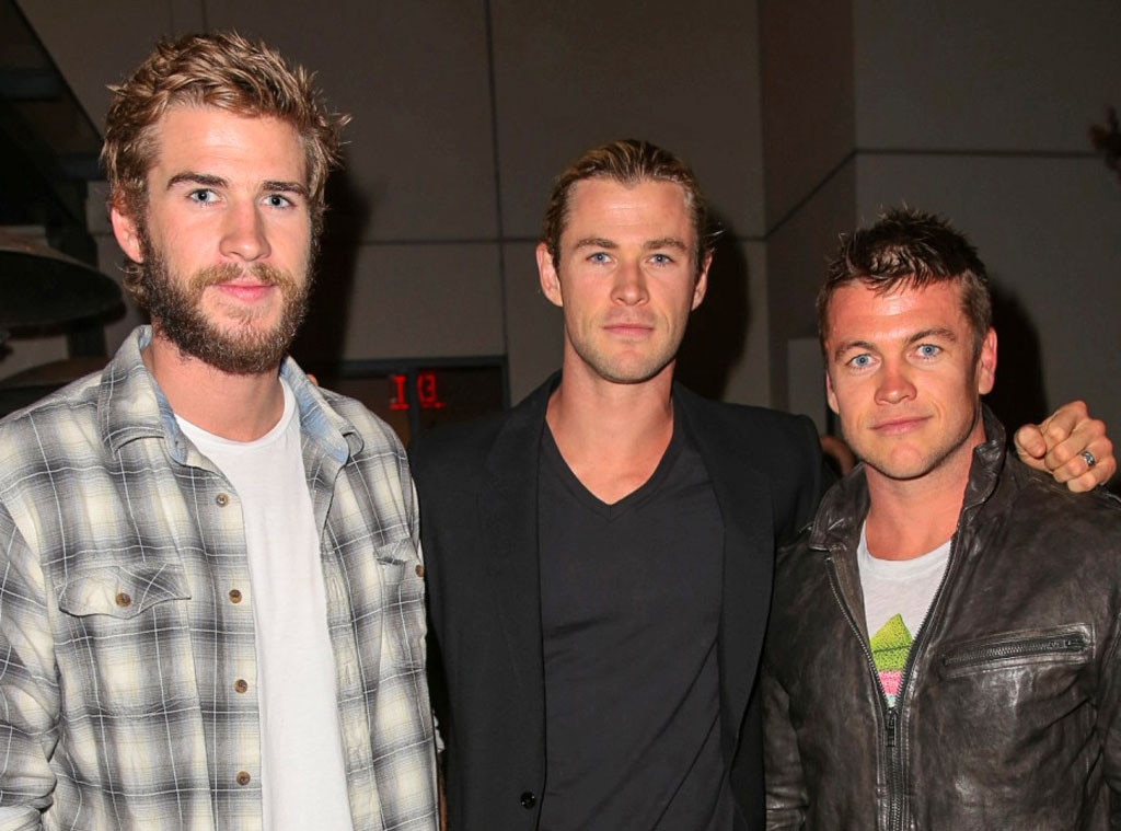 Liam Hemsworth, Chris Hemsworth , Luke Hemsworth