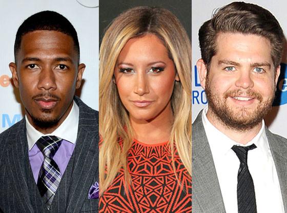Nick Cannon, Jack Osbourne, Ashley Tisdale