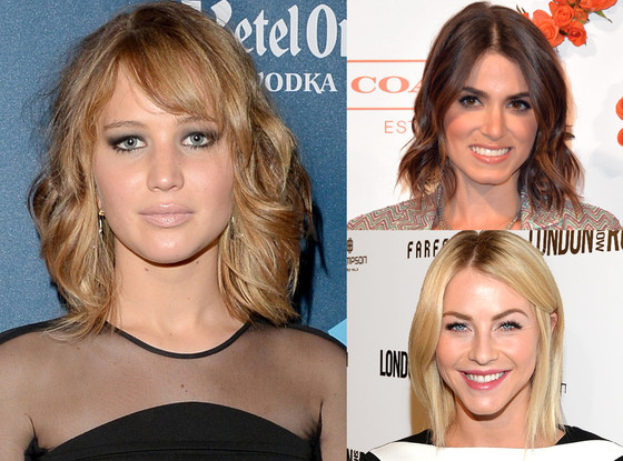 Jennifer Lawrence, Julianne Hough, Nikki Reed