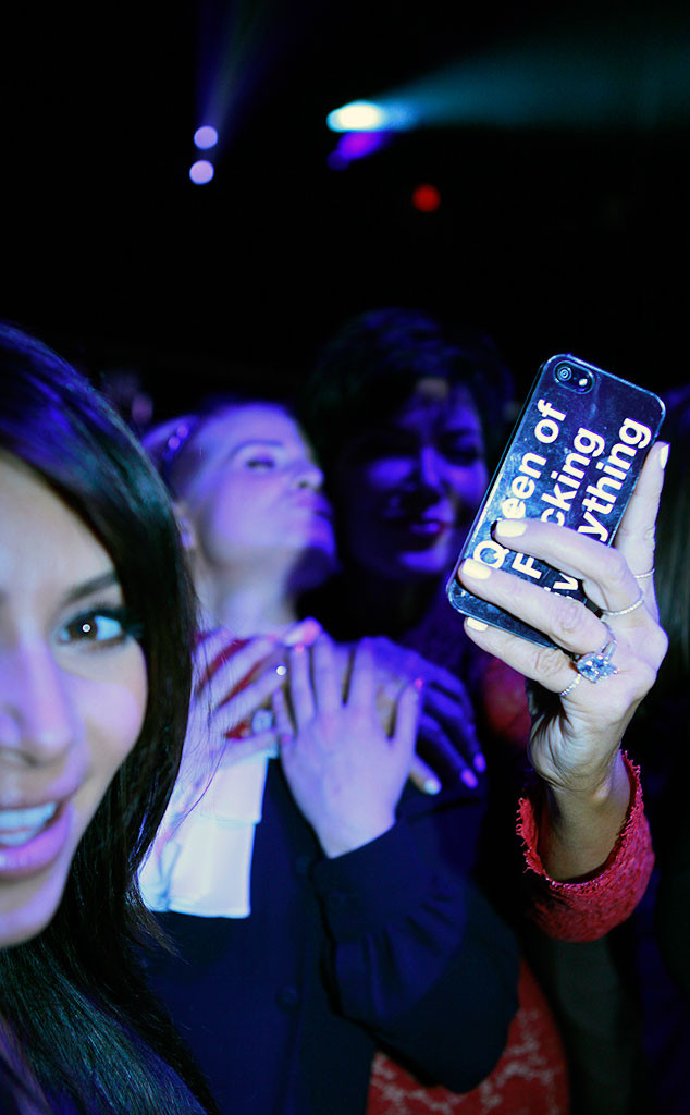 Kelly Osbouren, Kris Jenner, Kim Kardashian, Upfronts