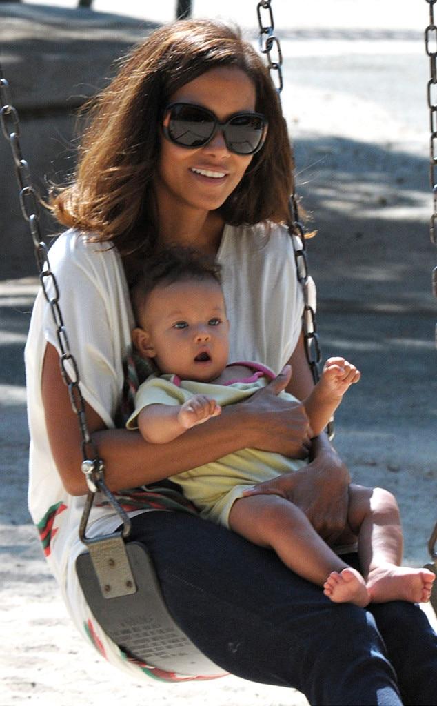 Halle Berry, Nahla Aubrey, Celebrity Babies