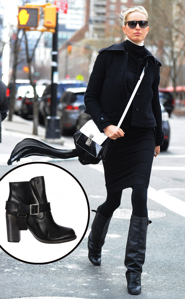 Karolina Kurkova, Black Boots
