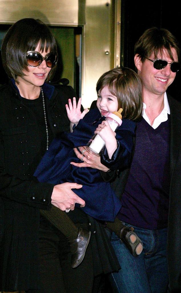 Katie Holmes, Tom Cruise, Suri Cruise, Celebrity Babies