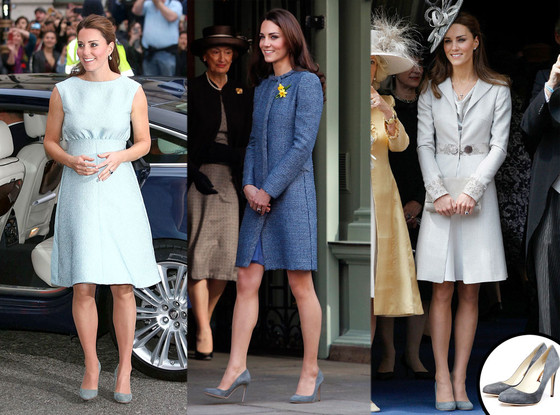 Kate Middleton, Duchess of Cambridge, Rupert Sanderson Shoes