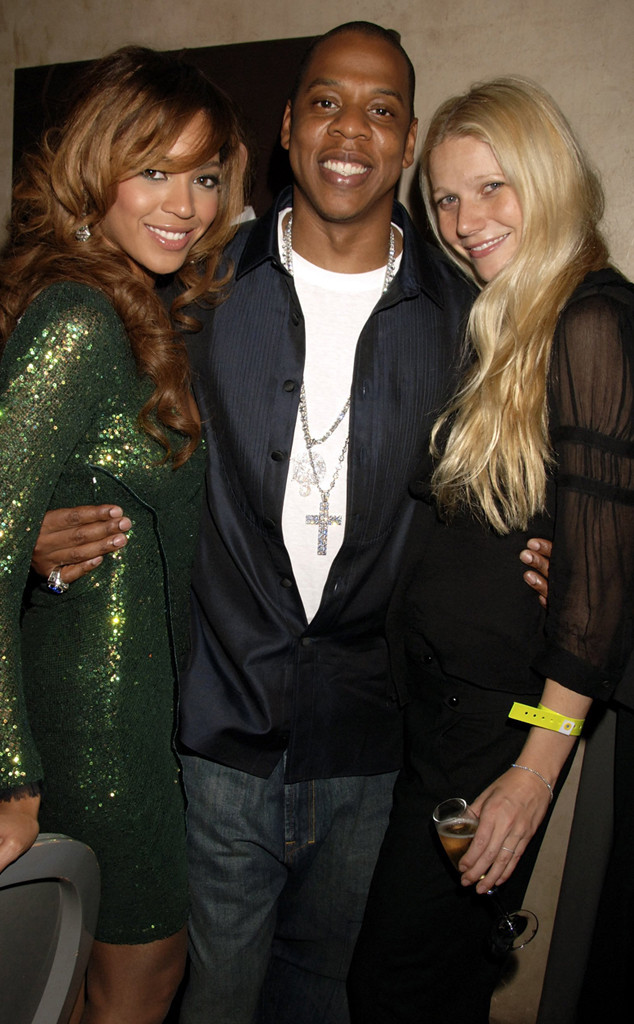 Beyonce Knowles, Jay-Z, Gwyneth Paltrow