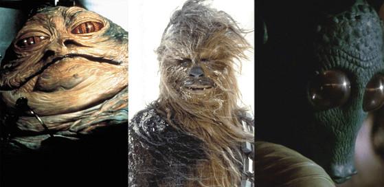 Chewbacca, Jabba the Hutt, Greedo, Star Wars, Best Aliens