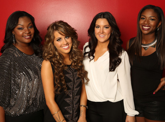 Candice Glover, Angie Miller, Kree Harrison, Amber Holcomb, American Idol Top 4