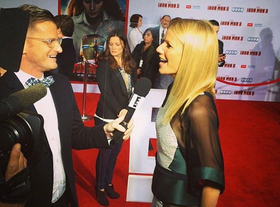 Marc Malkin, Gwyneth Paltrow, Instagram