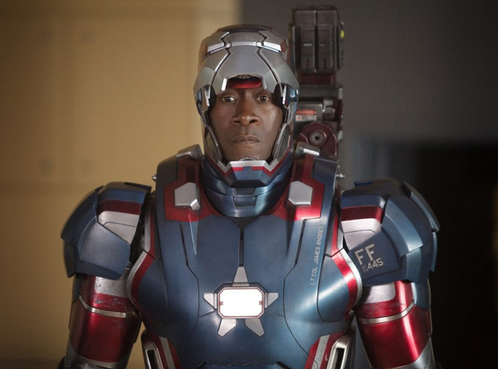 "Don Cheadle -  ""On set right now and just heard the news. Stan gave us so much joy, and not just as an exceptional storyteller and artist, but also through his work with his foundation,"" the actor, who plays War Machine, tells E! news. ""His 'Tony Stank' line will live with us forever. Rest in power, friend."""