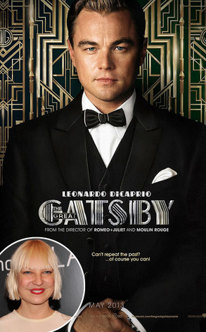 The Great Gatsby Poster, Sia