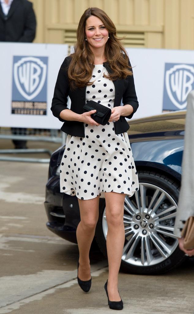 Kate Middleton S Polka Dot Dress Sells Out E Online