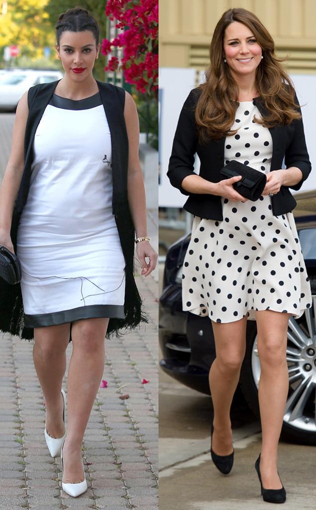 Kim Kardashian, Kate Middleton, Duchess Catherine