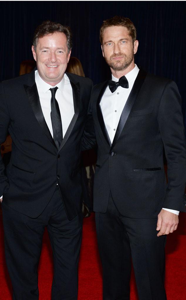 Piers Morgan, Gerard Butler