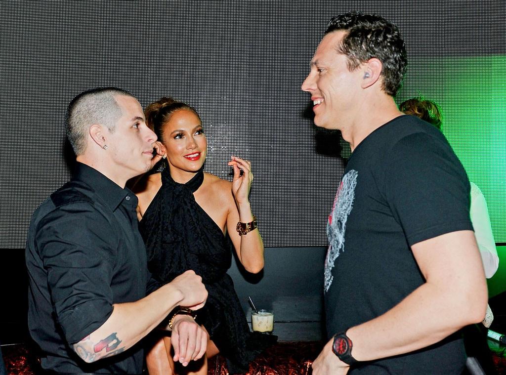 Casper Smart, Jennifer Lopez, DJ Tiesto