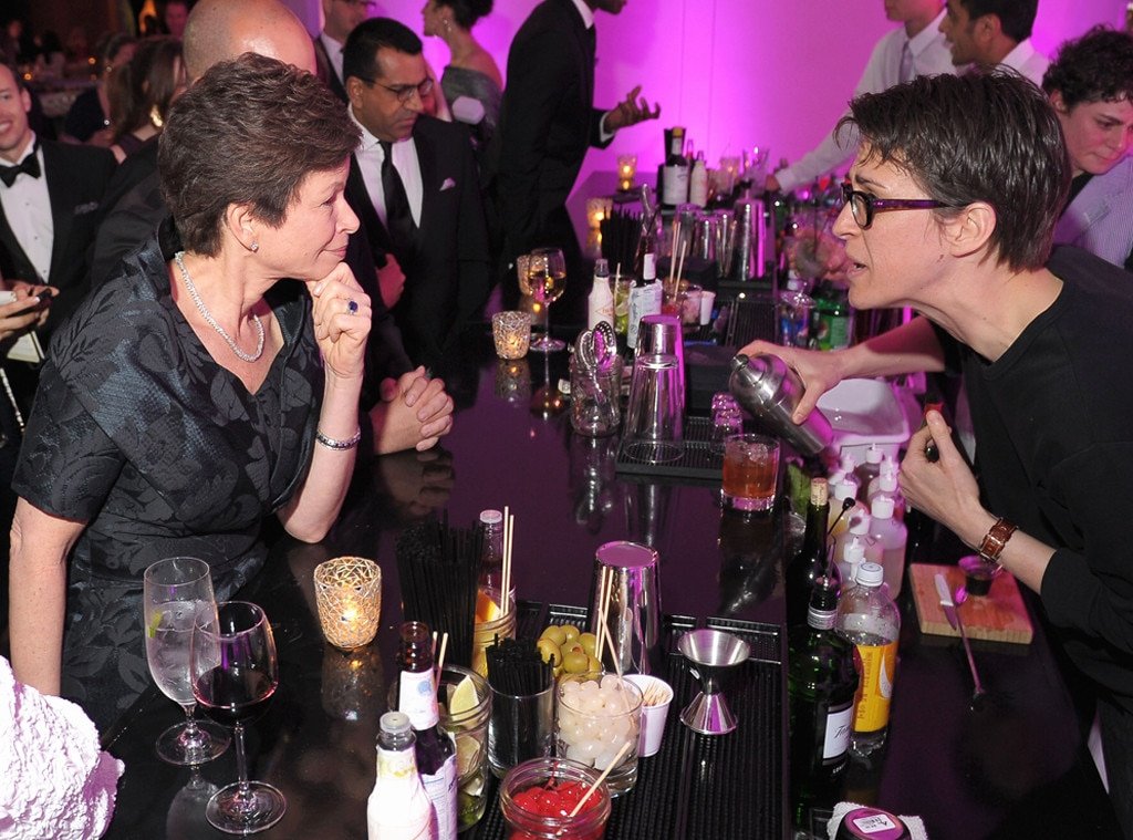 Valerie Jarrett, Rachel Maddow, MSNBC After Party