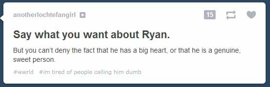 Ryan Lochte Tumblr