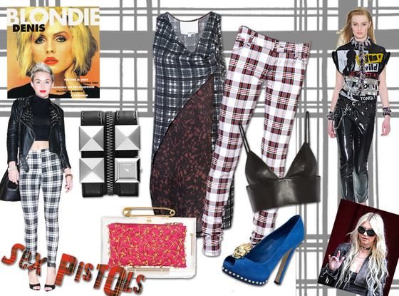 Miley Cyrus, Punk Trend Collage
