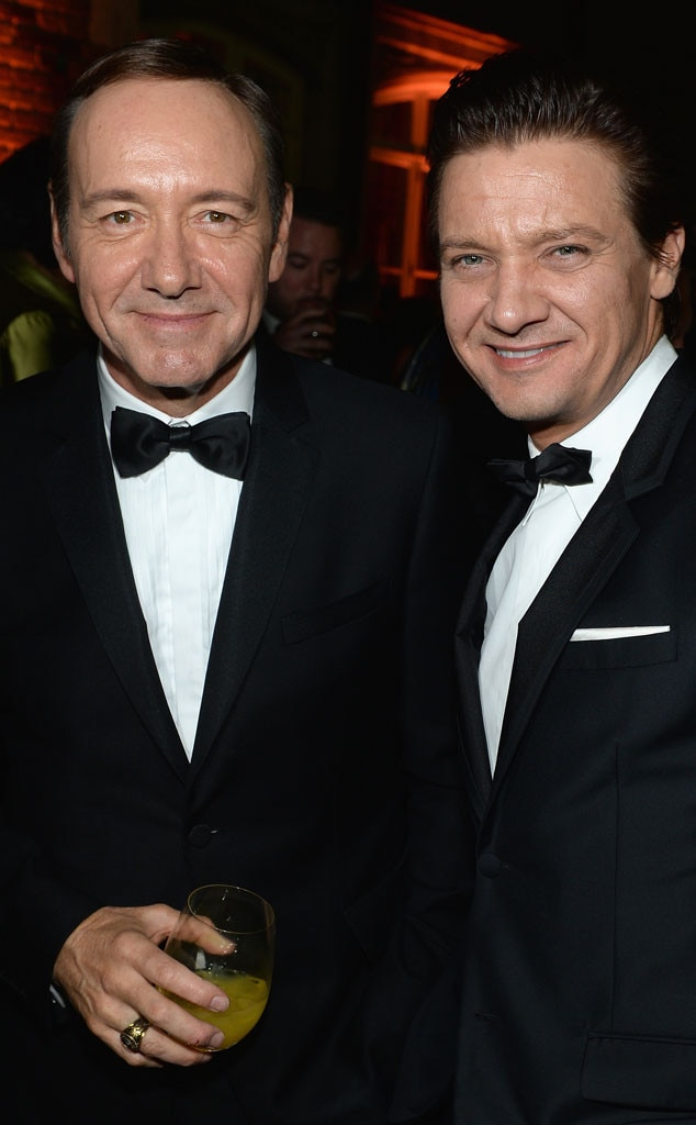 Kevin Spacey, Jeremy Renner
