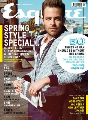 Chris Pine, Esquire UK