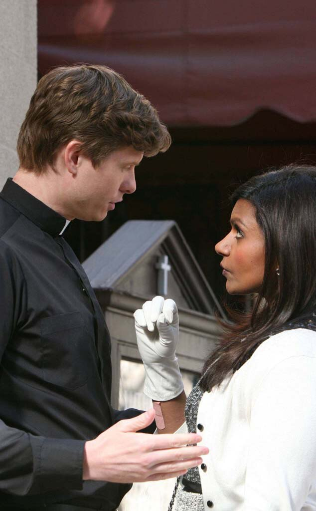Mindy Kaling, Anders Holm, The Mindy Project