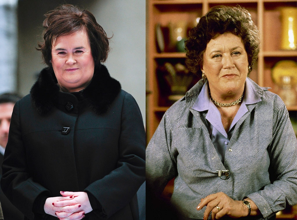 Susan Boyle, Julia Child