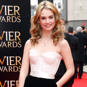 Lily James, The Laurence Olivier Awards
