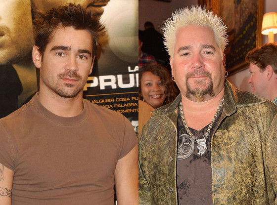 Colin Farrell, Guy Fieri