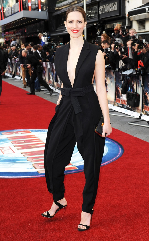 Rebecca Hall, Iron Man 3 Special Screening, Jumpsuit