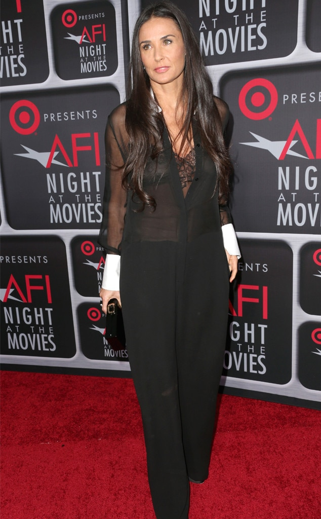 Demi Moore, Target Presents AFI's Night at the Movies, Jumpsuit