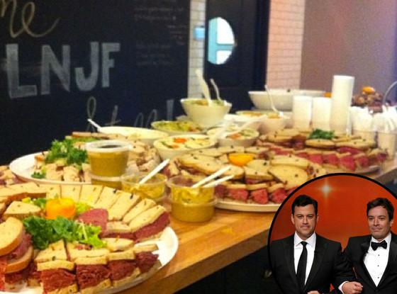 Jimmy Kimmel, Jimmy Fallon, Lunch
