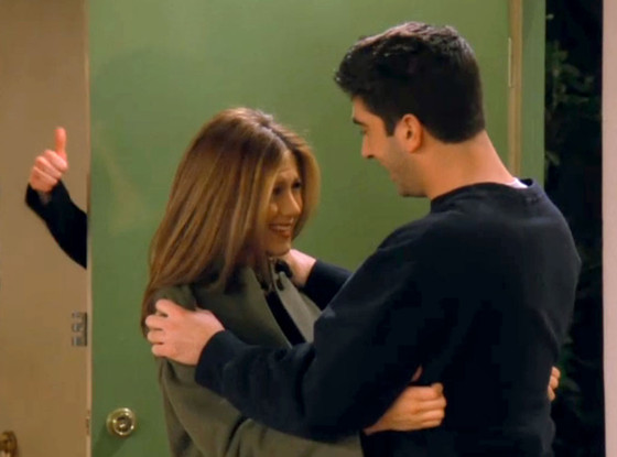 David Schwimmer, Jennifer Aniston, Friends