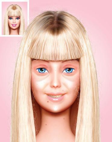 Barbie, Maquillaje