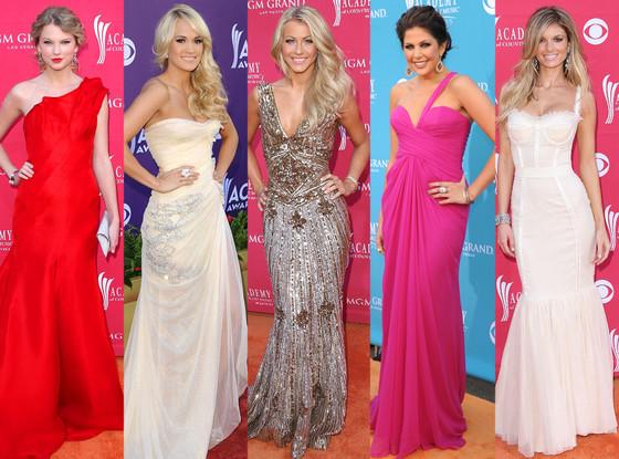 AMC, Taylor Swift, Carrie Underwood, Julianne Hough, Hillary Scott, Marisa Miller