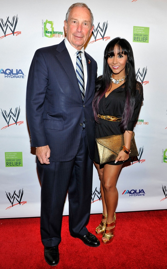 Michael Bloomberg and Snooki
