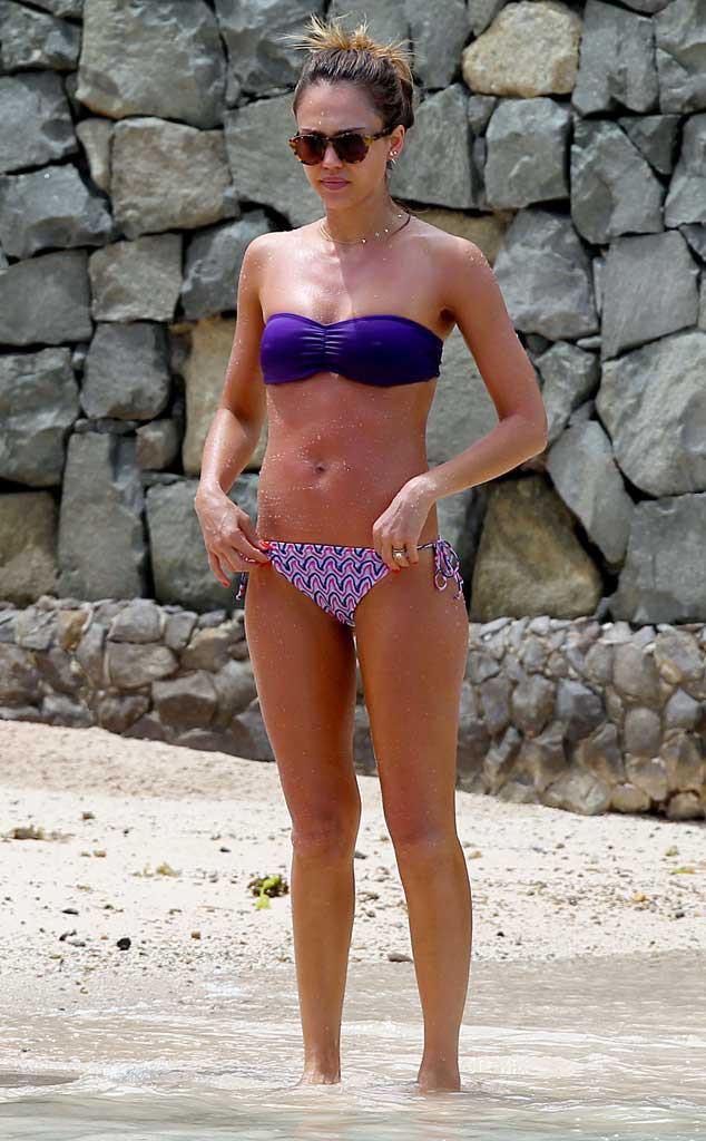 jessica alba im bikini bild