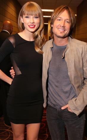 Taylor Swift, Keith Urban