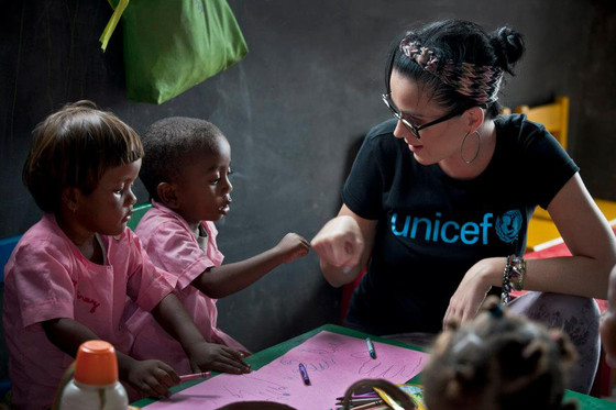 Kate Perry, Unicef