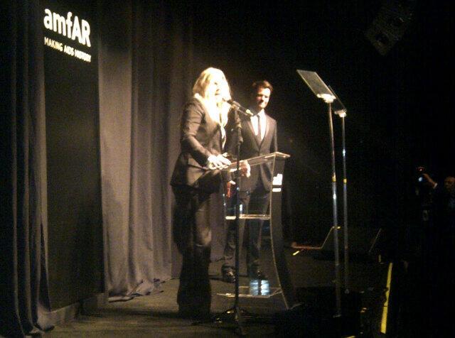 Fergie gets surprised by Josh Duhamel in Sao Paulo