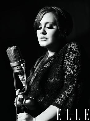 Adele, Elle Magazine Cover