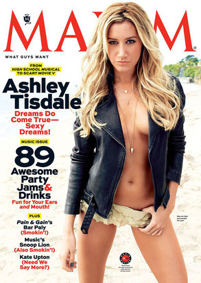 Ashley Tisdale, Maxim Magazine Cover
