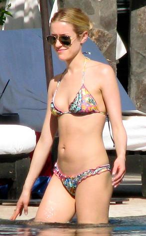 Kristin Cavallari Shows Off Post Baby Bikini Body In
