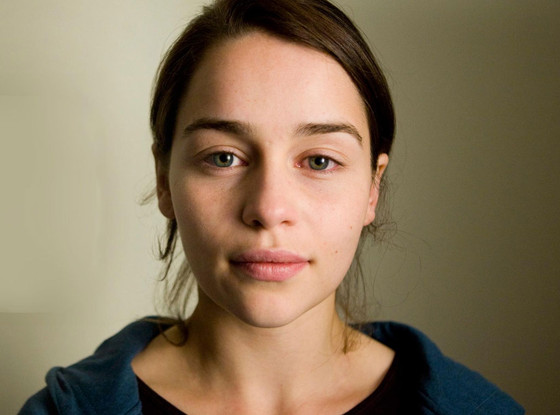 Emilia Clarke, No Makeup